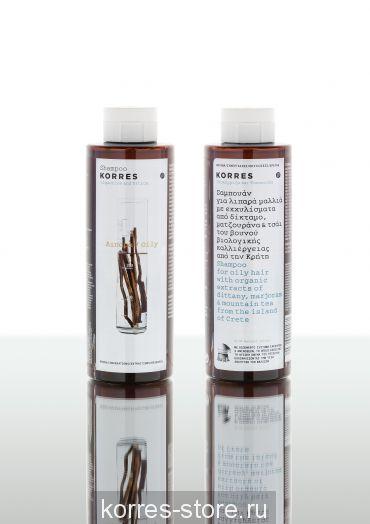 Korres Лакрица и крапива Шампунь для жирных волос